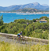 Mallorca biking photo
